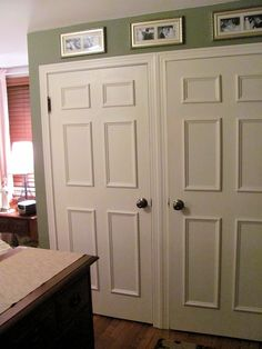 How To Faux Panel A Door Update Your Flat Paneled With Molding Trim Jennifer Rizzo For The Home Pinterest Beautiful Scarpe Be E Estate