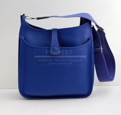 hermes mens wallet - AMAZING! AUTHENTIC Hermes Evelyne III GM Messenger Bag Gold ...