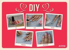 Newsprint nails DIY