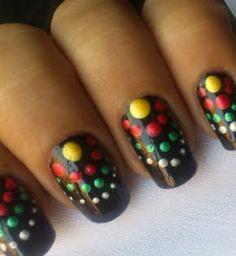 Pastel Dot Nails