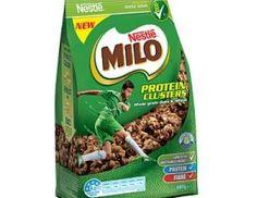 Nestlé Milo Protein Clusters Cereal