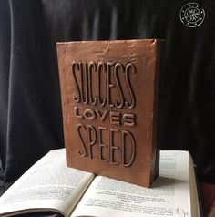Success Loves speed, quotes, sayings Wall Decor Quotes, Beautiful Space, Wall Plaques, Create Your Own, Success, Wall Art, Sayings, Handmade, Hand Made