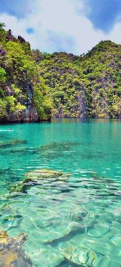 20 Photos of the Philippines that will make you want to pack your bags and travel | Kayangan Lake in Coron, Philippines - The crystal-clear turquoise waters of Kayangan Lake are absolutely surreal. | © Sabrina Iovino | via @Just1WayTicket