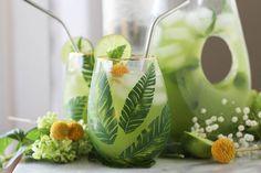 Mint Limeade Cooler |