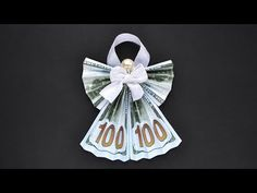 Christmas Origami, Christmas Toys, Christmas Angels, Diy Christmas Gifts, Paper Crafts Origami, Diy Origami, Tulip Origami, Money Origami Tutorial, Origami Boxes