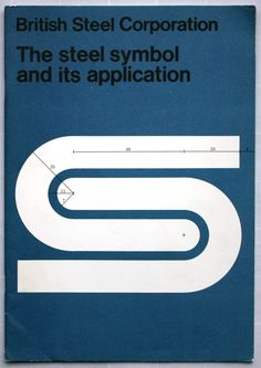 British Steel Logo 1969-1999 Designed by David Gentleman