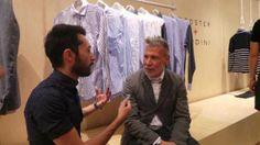 My interview with Nick Wooster and Luigi Lardini at Pitti Uomo 86 at http://www.menstylefashion.com/pitti-uomo-interview-with-nick-wooster-and-luigi-lardini/