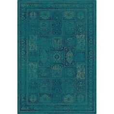 Anchor your living room seating group or define space in the den with this loomed art silk rug, featuring an ornate patchwork motif for eye-catching appeal. ...