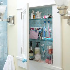 Medicine Cabinet Storage Ideas