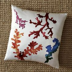 Coral Reef Silk Pillow Cover $39