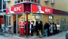 Christmas around the world - the Japanese love to eat KFC.on Christmas Day!