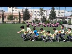 Physical Education activities at Ishik Gulan Primary School Physical Activities For Preschoolers, Physical Education Activities, Educational Activities, Funny Games For Kids, Physical Fitness Program, Crossfit Kids, Pe Games, Dance Games, Exercise For Kids