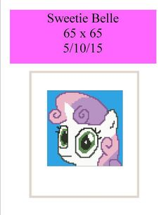 (4) Name: 'Crocheting : Sweetie Belle 65 x 65