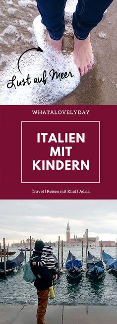 ITALIEN MIT KINDERN IM HERBST Italien im Herbst. Unbedingt. Warm und manchmal kalt. Das italienische Essen war der Wahnsinn. Selbst die Kinder haben alles gekostet. Die Strände waren leer, keine einzige Liege habe ich gesehen. #reisenmitkindern #reisen #italy #venedig #venice #wanderlust #tipps #italien #adria #reisenmitkind #ferien #herbst #trend