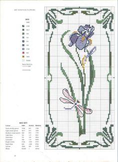Gallery.ru / Art Nouveau Cross Stitch39.jpg - Art Nouveau Cross Stitch - lilkaaa