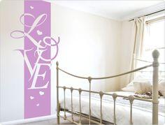 Wandtattoo Banner LOVE