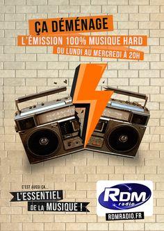 Campagne RDM Radio 2014 - ça déménage