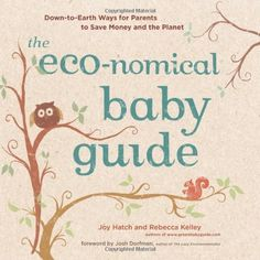 The Eco-nomical Baby Guide: Down-to-Earth Ways for Parents to Save Money and the Planet by Joy Hatch, http://www.amazon.com/dp/B004R96TEQ/ref=cm_sw_r_pi_dp_jl44qb0EW1QM8