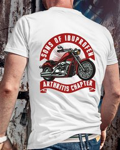Mens Womens Unisex T shirt biker funny motorbike open face cool retro design