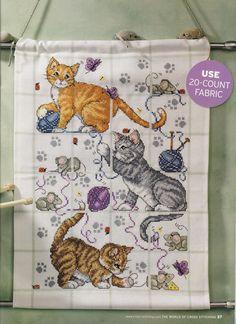 three+kitchencats+wallhanging.jpg (1163×1600)