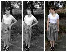 DIY Flowy Bowy Skirt