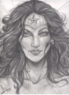 Wonder Woman Portair/Retrato