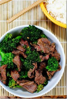 Yummy Broccoli Beef   #Healthy Recipes for Dinner