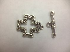 10 sets pewter alloy cross toggles antique by sedonastonesllc, $1.50