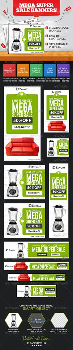 Super Sale Banner Set Template PSD | Buy and Download: http://graphicriver.net/item/super-sale-banner-set/7596351?WT.ac=category_thumb&WT.z_author=BannerDesignCo&ref=ksioks