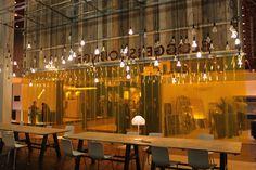 Plumen installation at 100% Design @100% Design at @LondonDesignFestival 2013