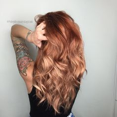 Makeover: Platinum To Dimensional Copper - Career - Modern Salon Toner For Blonde Hair, Perfect Blonde Hair, Red To Blonde Hair, Color Melting Hair, Round Hair Brush, Hair Cleanse, Summer Hairstyles, Homecoming Hairstyles, Retro Hairstyles