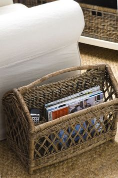 Rivièra Maison Rustic Rattan Magazines