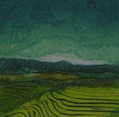 Sarah Ross Thompson   collograph via Will's Art Warehouse