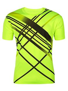 ZITY Men Boy Summer Outdoor Sport Quick Dry Shortsleeves TShirt Green US  XXL -- You 8212063a64d5