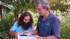 Gardening Australia's Costa Georgiadis interviews ecologist Peter Rutherford on worm farming