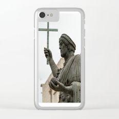 Italian sculpture Clear iPhone Case