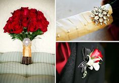 Real Wedding Inspiration: Vintage Accents. Love love love the colors