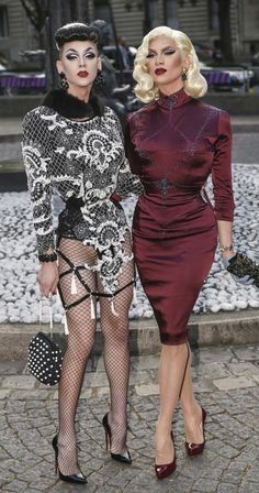 rpdr8:  Violet Chachki and Miss Fame in Paris. - Only a few things are really important