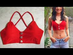 Designer Blouse Patterns, Blouse Designs, Chaniya Choli For Kids, Easy Sewing Projects, Diy Clothes, Bikinis, Swimwear, Summer Outfits, Underwear