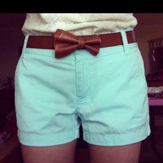 My new JCrew shorts. I think I'm in love <3