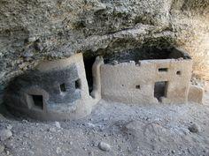 Las Cuarenta Casas/ Cueva Ruinas Arqueologicas / Madera, Chih. MEXICO
