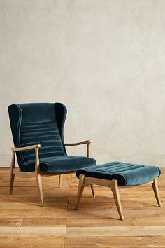 Slide View: 5: Velvet Roadway Chair