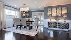 Nice, modern dining room