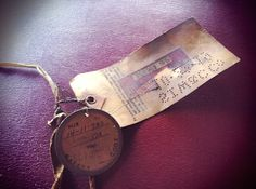 Electrical Safety Tag from 1917.