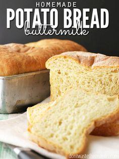 Yummy+Recipe:+Potato+Buttermilk+Bread