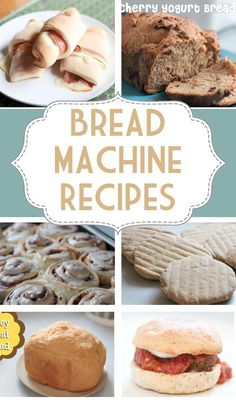Good bread machine recipes are hard to come by. Here is a great collection of tried and true recipes that you can keep on hand for when you get the itch to bake! Recipes for breakfast, lunch and dinner! Best Bread Machine, Bread Maker Machine, Bread Machines, Panera Bread, Bread Bun, Bread Rolls, Pita Bread, Easy Bread, Real Food Recipes