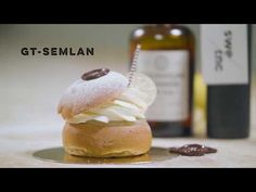 GT-semla – Swedish Tonic