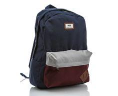 Vans - Old Skool II Backpack | | Blå | Sportamore.no