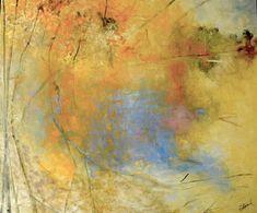 Brimfield Pond, 60 x 72, oil on canvas, 2012 by Kathleen Earthrowl
