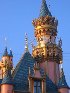 Sleeping Beauty Castle - Disneyland's 50th Anniversary